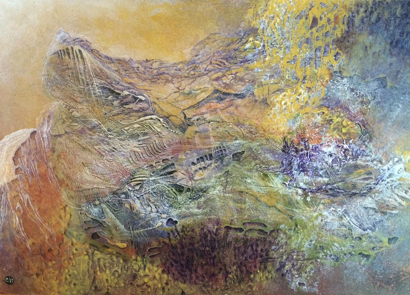 Pouponnière d'Âmes 75 x 50 (collection privée)
