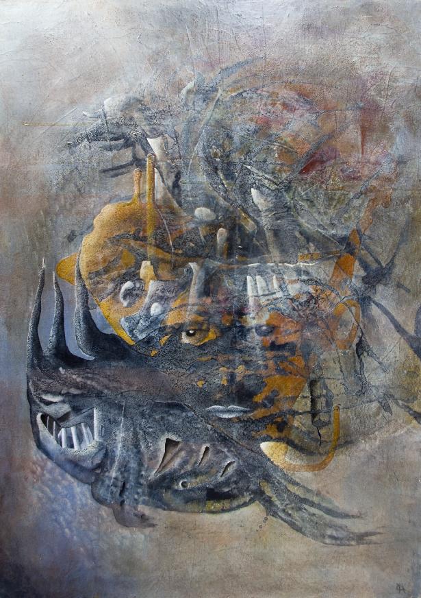 Anima Mundi 70 x 40 (Collection privée)