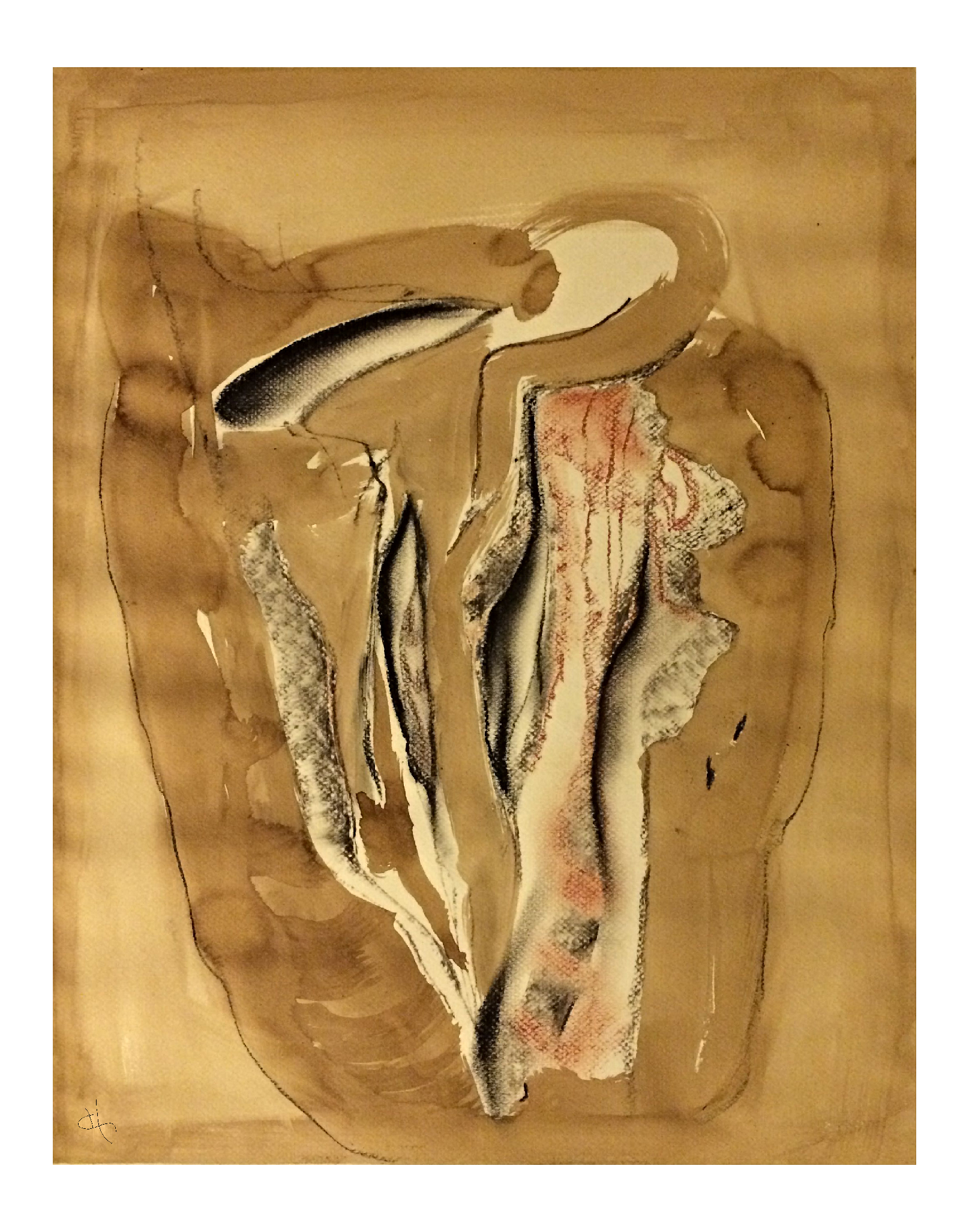 A cœur ouvert 70 x 48 cm