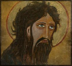 Saint Jean le Baptiste 10 cm x 10 cm