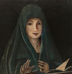 Vierge de l'Annonciation 20 x 20