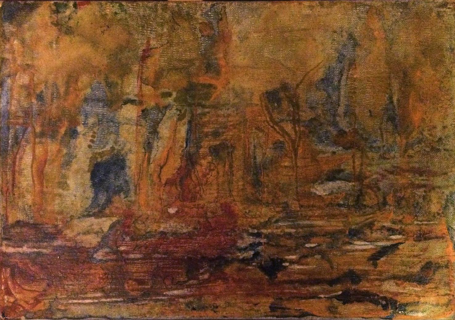 La caverne du bois