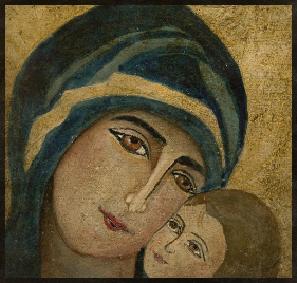 Marie et Jésus 10 cm x 10 cm