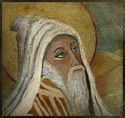 Saint Augustin le Berbère 10 cm x 10 cm