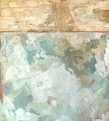 """Shipwreck, 42""""x48"""""""