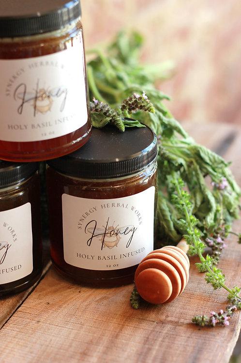 Holy Basil Infused Honey
