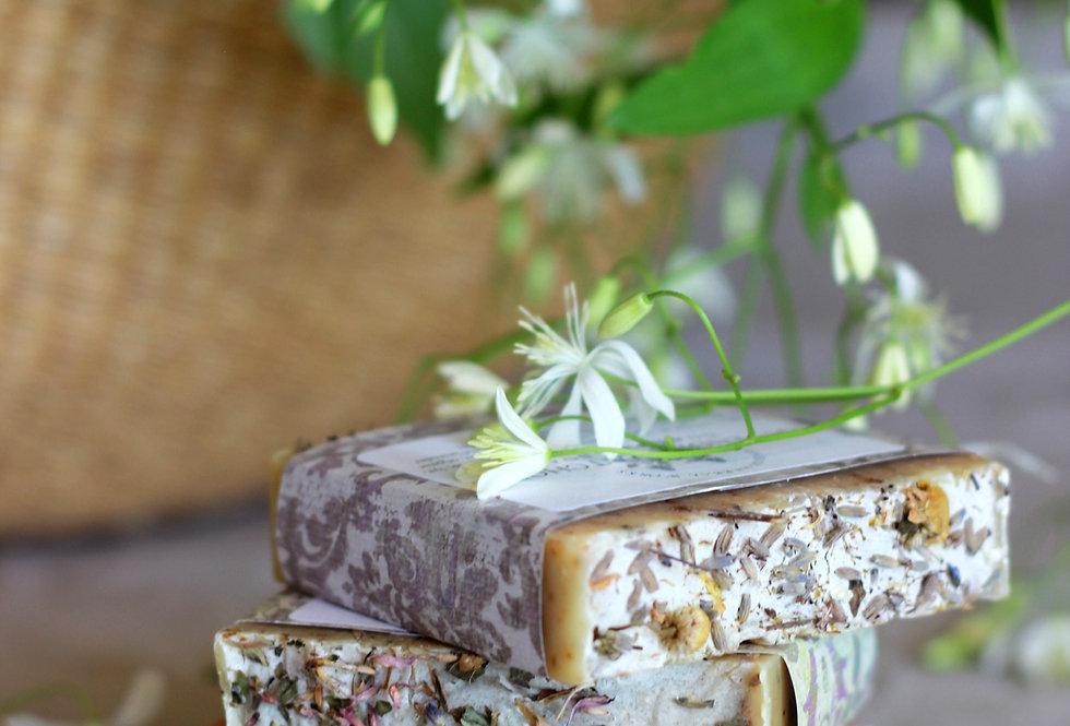 Rose Hibiscus Goat Milk Soap