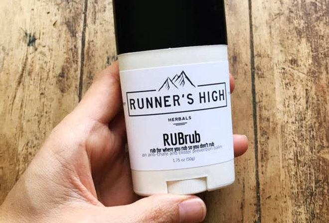 RUBrub Balm   anti-chafe & blister prevention