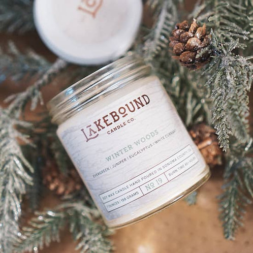 Winter Woods Soy Candle