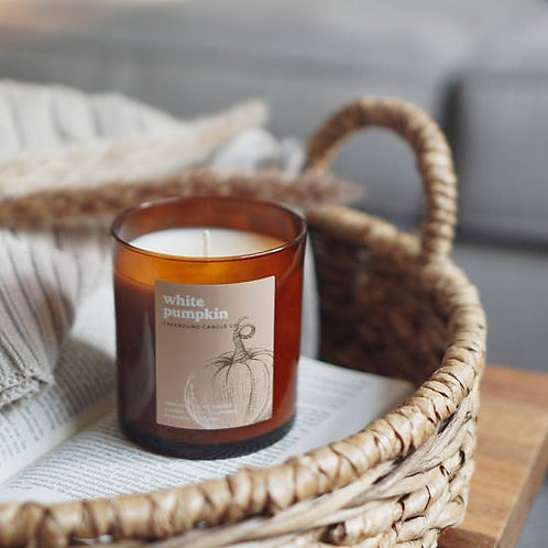 White Pumpkin Soy Candle