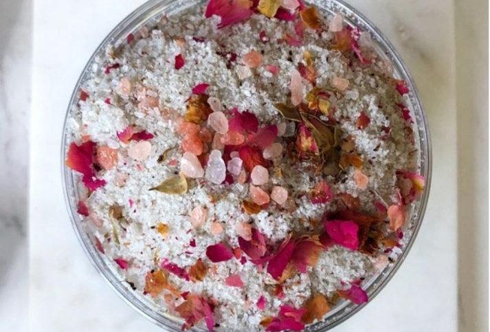 Fairy Garden Bath Salts