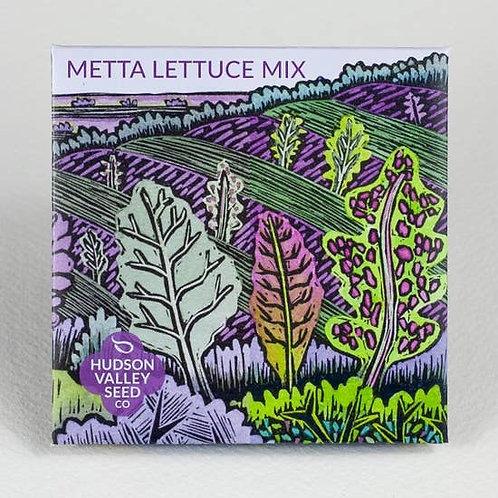 Metta Lettuce Seed Mix - Organic