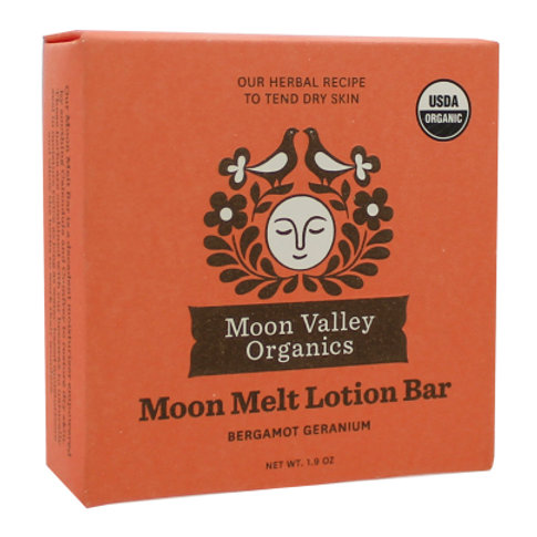 Moon Melt Lotion Bar Bergamot Geranium