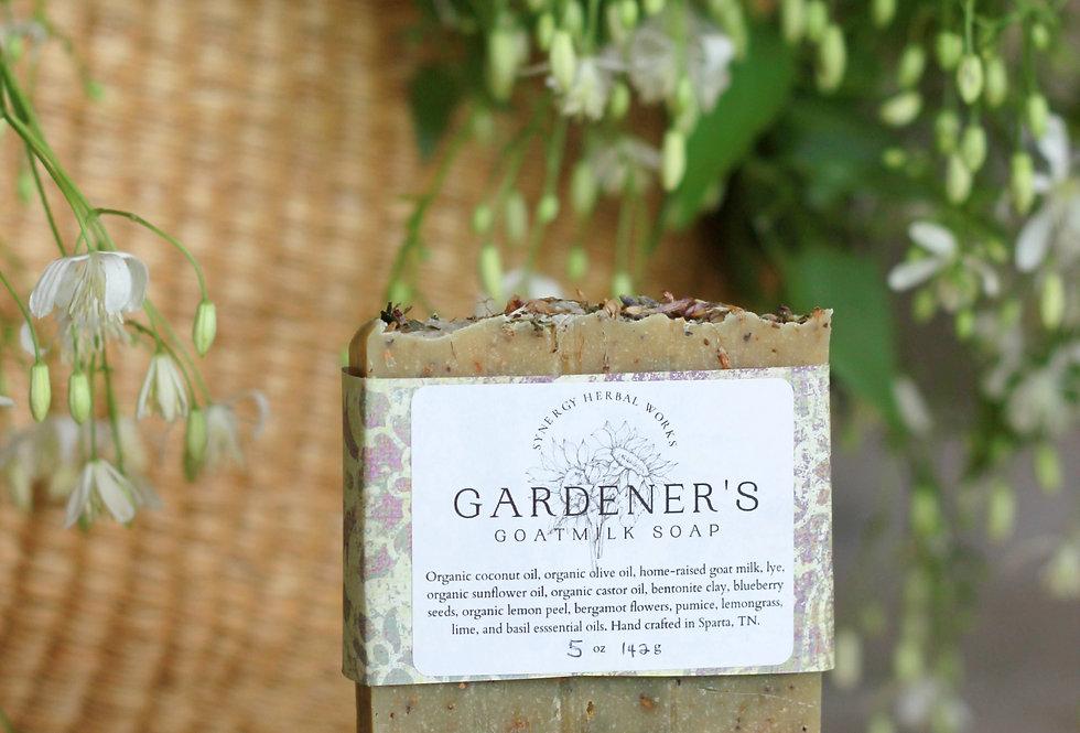 Gardener's Goat Milk Soap