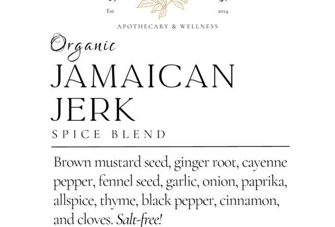Jamaican Jerk Seasoning 2 oz