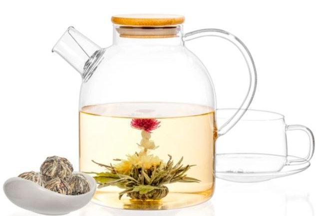 Flowering Blooming Tea Gift Box