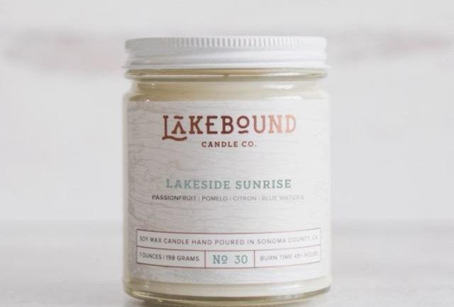 Lakeside Sunrise Soy Candle