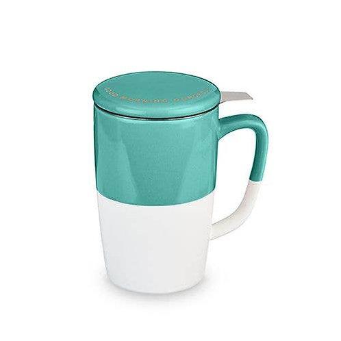 Delia™ Good Morning Gorgeous Tea Mug & Infuser