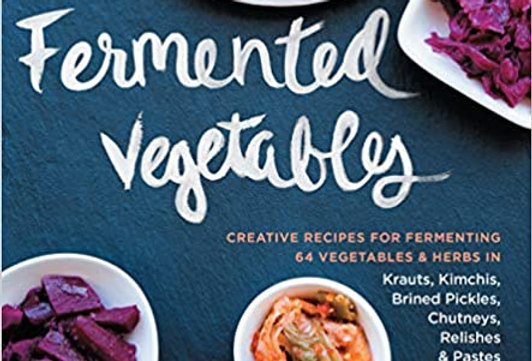 Fermented Vegetables Book