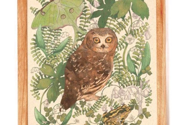 Moonlit Forest Print