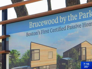 Brucewood Homes, Boston's First Passive House Certified Homes, Featured on Boston 25 News