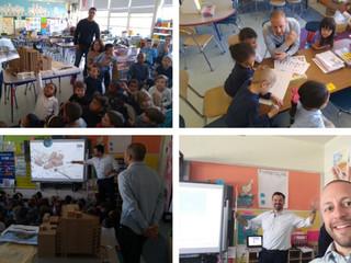 Visiting the Henderson Inclusion School in Dorchester