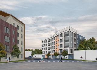 Five-Story, Mixed-Use Building Eyed For Hancock Auto Body Lot