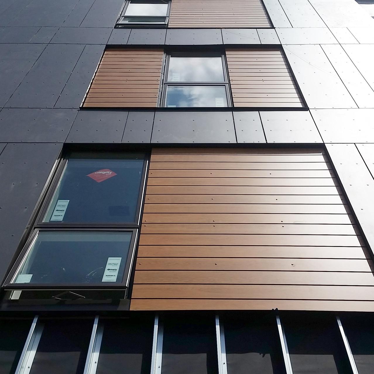 232OC - Composite Panel Facade