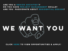We Are Hiring! Sr. Architect / PM Wanted!