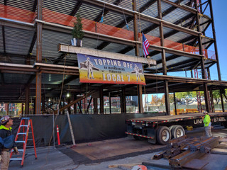 14 West Broadway Topping Off Ceremony