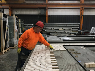 The Facade Fabrication Process for the West Broadway Hotel