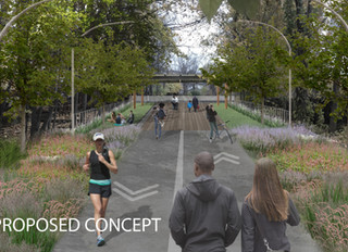 Greenway Envisioned To Beautify, Enliven Red Line Tunnel Cap