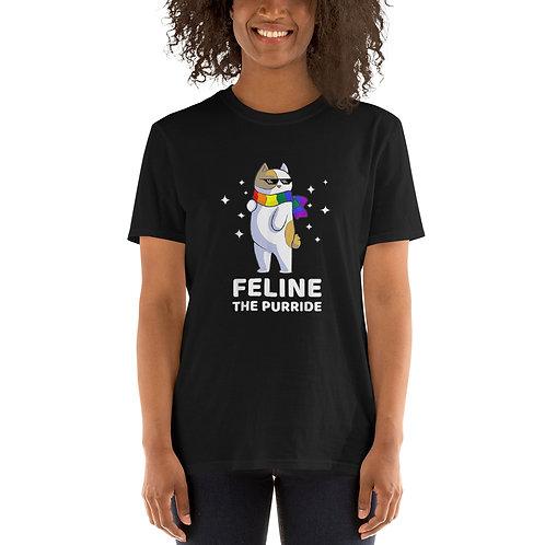 Feelin the Pride Shirt - Short-Sleeve Unisex T-Shirt