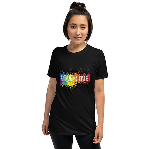 Love is Love Shirt - Short-Sleeve Unisex T-Shirt