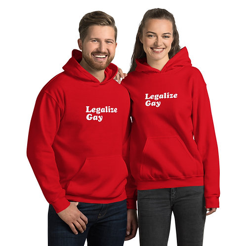 Legalize Gay Unisex Hoodie
