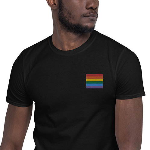 Gay Embroidered Shirt - Short-Sleeve Unisex T-Shirt