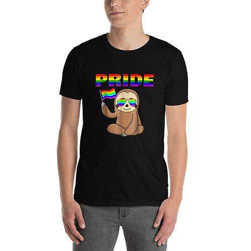 Pride Sloth Flag Shirt - Short-Sleeve Unisex T-Shirt