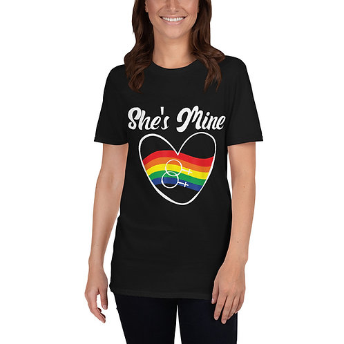 She's Mine Shirt - Short-Sleeve Unisex T-Shirt