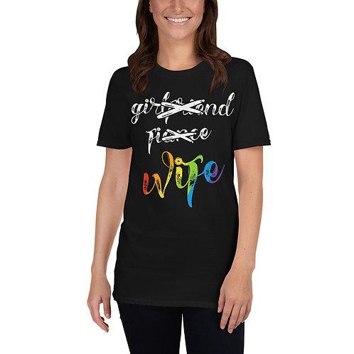 Girlfriend, Fiancé, Wife Shirt - Short-Sleeve Unisex T-Shirt