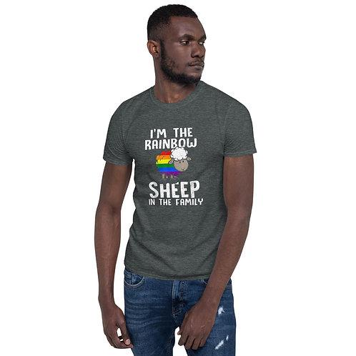 I'm the rainbow sheep in the family Shirt - Short-Sleeve Unisex T-Shirt