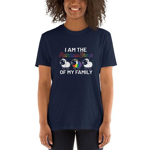 I am the rainbow sheep of my family Shirt - Short-Sleeve Unisex T-Shirt