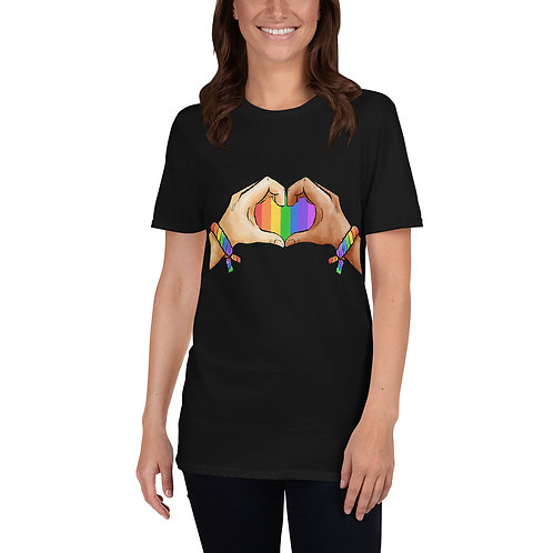 Gay Hand Pride Shirt - Short-Sleeve Unisex T-Shirt