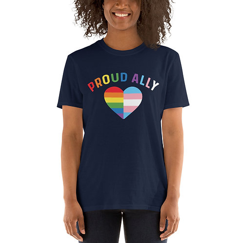 Proud Ally Short-Sleeve Unisex T-Shirt