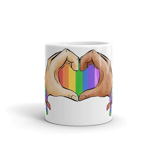 Gay Pride Hand Cup - Mug