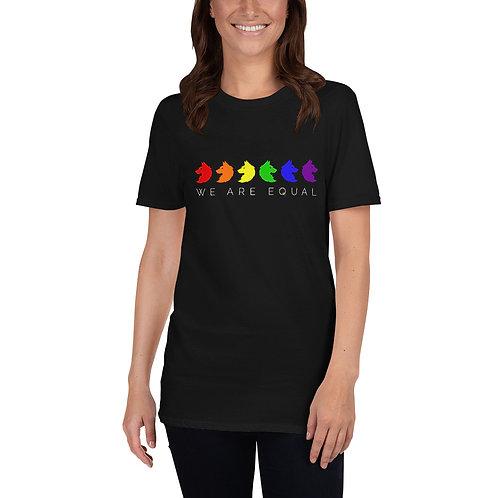 We Are Equal Shirt - Short Sleeve Unisex T-Shirt