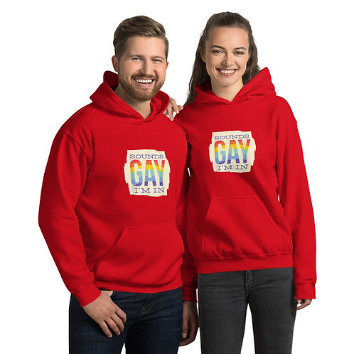 Sounds Gay I'm In Unisex Hoodie