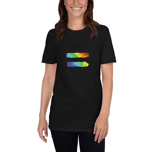 Equals Sign Shirt - Short-Sleeve Unisex T-Shirt