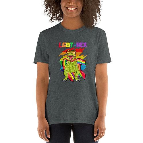LGBT Rex Shirt - Short-Sleeve Unisex T-Shirt