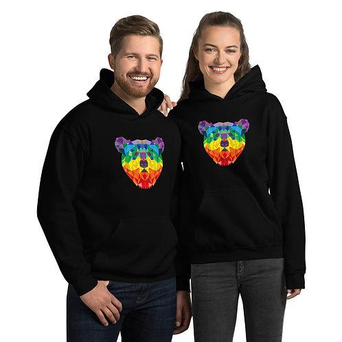 Rainbow Bear Unisex Hoodie