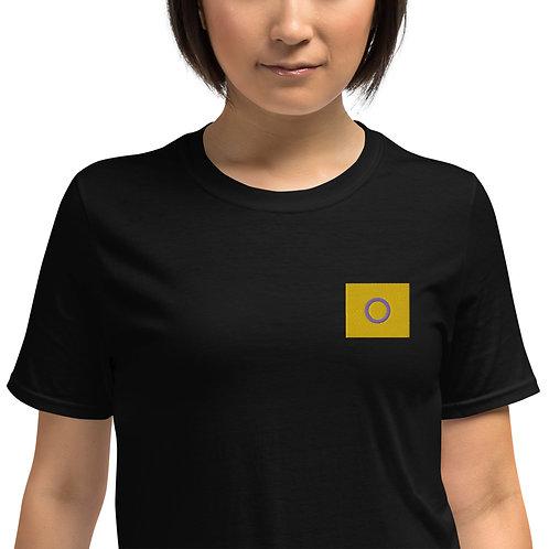 Intersex Embroidered Shirt - Short-Sleeve Unisex T-Shirt